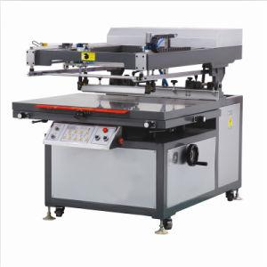 Stampatrice obliqua dello schermo del CE del braccio di alta qualità piana