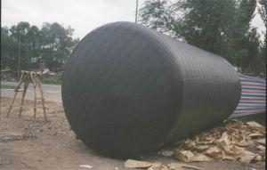 Butyl Anticorrosion van het Polyethyleen Binnen Butyl PE van de Omslag van de Pijp Band, de Ondergrondse Anticorrosion PE Band van de Omslag van de Pijp, de Verpakkende Zelfklevende Band van de Buis