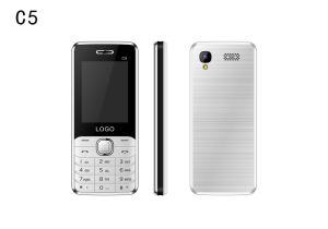 De nieuwe GSM van de Aankomst 2.4inch 2g Dubbele Telefoon van de Staaf van de Eigenschap SIM voor Bejaarde C5
