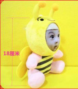 giocattolo della peluche della foto del fronte della bambola 3D del fronte 3D