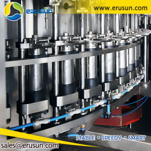 Automatic 60 frascos por minuto máquina de enchimento de bebidas