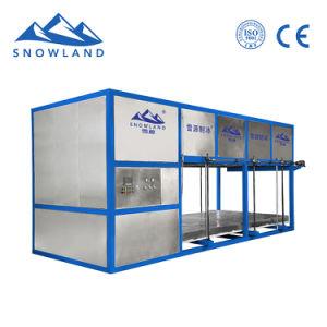 La CE aprobó 10 toneladas de bloque de China totalmente automática Máquina de hielo