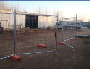 Heißer eingetauchter galvanisierter temporärer Zaun für den Zaun von Miete