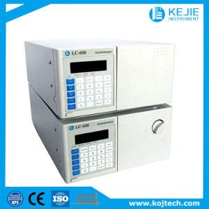 La cromatografía líquida de alto rendimiento, isocrático, alta presión