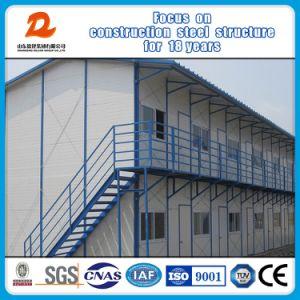 Dois andares com estrutura de aço construção prefabricados/Construções prefabricadas House/Prefab House