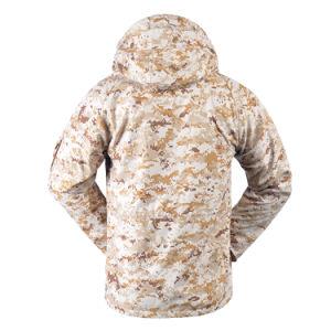 Nouveau design Fashion Men's Winter Outdoor Randonnée Veste fleece lined