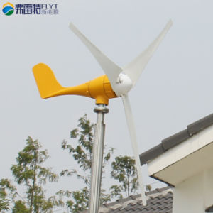 Kleine Wind Turbine Generator 500W 24V met Free Charge Controller