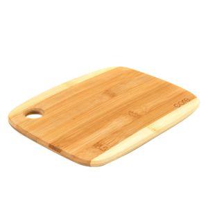 Menaje de bambú el uso de doble cara tabla de cortar de bambú vegetal