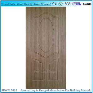 EV-Wenge en bois de placage porte en contreplaqué moulé de la peau ou du panneau de porte