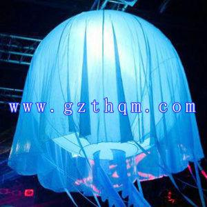 Ballon van de LEIDENE Bloem van de Verlichting de Opblaasbare Duurzame Materiële/het Opblaasbare Model van de Bloem