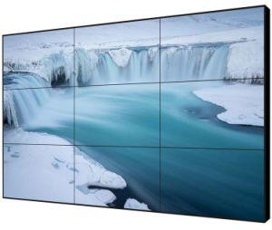 49 Zoll tat nahtlose an der Wand befestigte Videodarstellung LED-4K mit Samsung oder Fahrwerk-schmaler Anzeigetafel LCD-Video-Wand
