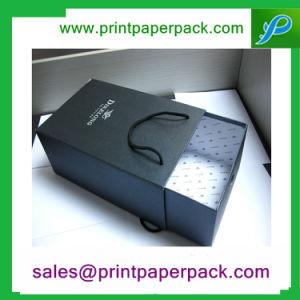 Cajón de cartón Caja de regalo personalizado y de almacenamiento de la bolsa de cosméticos de joyero Joyero caja de embalaje de regalo