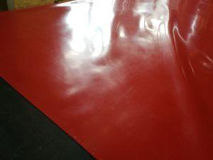 분홍색 빨간 순수한 자연 고무 장, 실리콘껌 고무 장, 유액 장, 22MPa, 40shore a. 740%, 1.05g/cm3를 가진 파라 고무 장