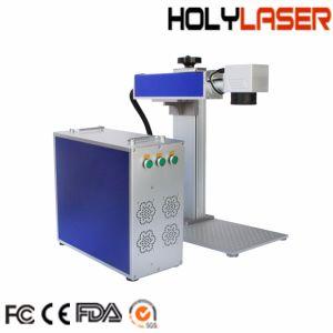 Marcação a Laser de fibra de qualidade alemã máquina impressora para marcação de Metal
