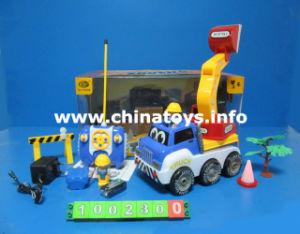 4CH het Plastic Stuk speelgoed van de Auto van het Voertuig van de Vrachtwagen van de Techniek van de afstandsbediening (1002300)