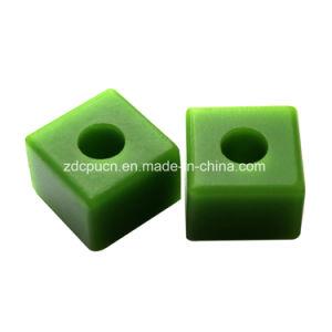 Ronda de Cabeça Quadrada OEM Orifício Sloting luva plástica de Poliuretano / Conector
