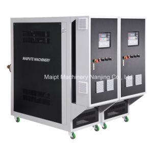 ゴム製工具細工のための熱伝達オイルの循環装置