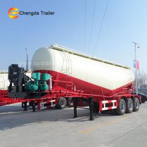 3eixos marca Fuwa Navio petroleiro Tandem de cimento a granel Reboque