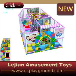 Haute qualité à l'intérieur de l'équipement de terrain de jeux doux pour Mcdonalds (T1502-4)