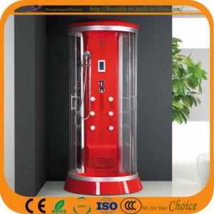 Redondo rojo completo de lujo cabina de ducha (ADL-867)