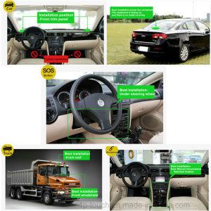 Motociclo/veículo GPS Tracker com estatísticas de quilometragem T110