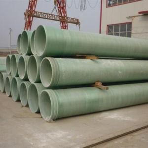 Alta resistência GRP de plástico reforçado com fibra de vidro Tubos Gre