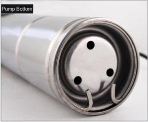 1CV de la bomba de tornillo de sumergibles de pozo de la bomba de agua para riego