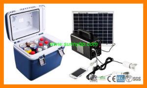 60W do Sistema de Energia Solar Portátil para Caixa de congelador