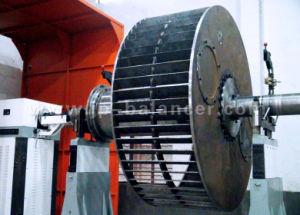 Консольная динамическую балансировку машины для больших Центробежный вентилятор