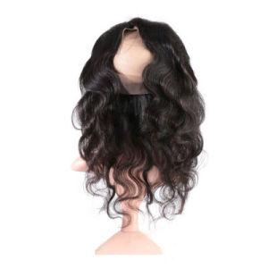 100 % perruque de cheveux humains Vague Lace Front Wig