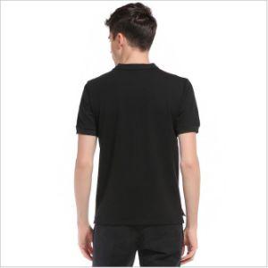 형식 디자인 대조 색깔 남자의 줄무늬 불쾌 면 폴로 셔츠