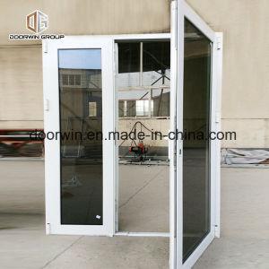 Janela francesa de abertura exterior de alumínio com vidro reflector