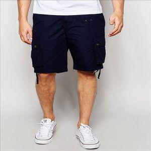 2016 Shorts del carico di estate di Pocketes dell'azzurro di marina degli uomini multi