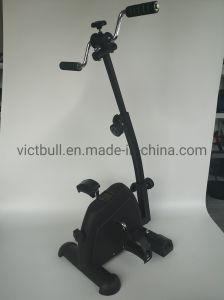 Medical Dobra Deluxe Pedal Eléctrico Bike com visor a dobragem bicicleta de exercício Mini Exerciser Pedal