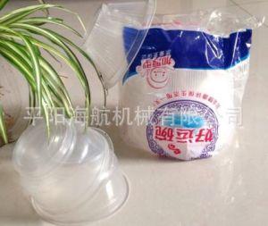 Venta caliente Tazón de plástico desechables recuento automático y la máquina de embalaje