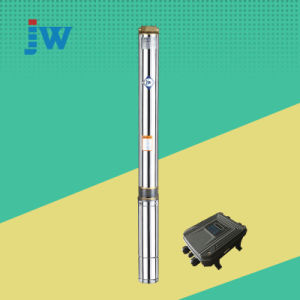 La energía solar DC Motor sin escobillas de la bomba de pozo profundo