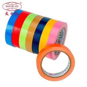 Tissu de couleur personnalisés de qualité professionnelle le conduit du ruban adhésif pour l'emballage