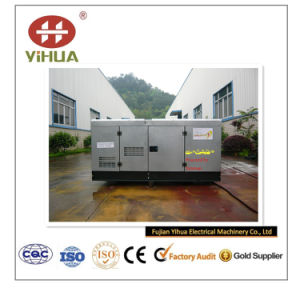 (녹슬지 않는) 닫집 고명한 Yanmar 강철 상표 디젤 엔진 발전기