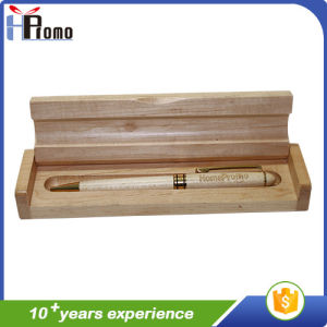 펜을%s 가진 또는 없는 대나무 펜 상자