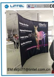 Exposición Banner emergente Soporte de pantalla