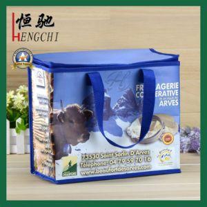 6 latas de jugo fresco de enfriador de poliéster con aislamiento de la bolsa
