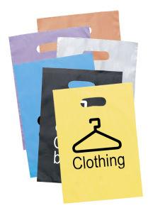Bunte kundenspezifische Drucken-Geschenk-Verpackungs-Plastikwaren-Beutel mit Griff