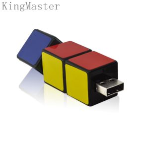 В Rubik Kingmaster Cube дизайн пластиковую карту USB флэш-накопителей USB