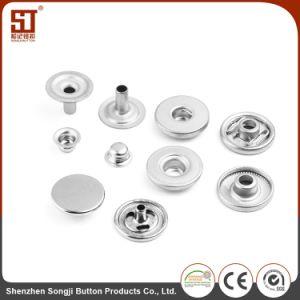 OEMカスタムMonocolorの円形の個々の金属のスナップボタン