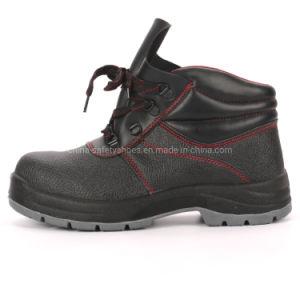 Hot Semelle PU en cuir véritable de vente des chaussures de sécurité pour les travailleurs