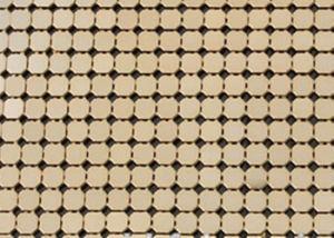 جدار سقف زخرفيّة حل معدن ستار/رقاقة ستار شبكة