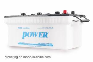 N200 12V 200Ah boîtier en plastique chargée sèche au plomb acide rechargeable Batterie de voiture