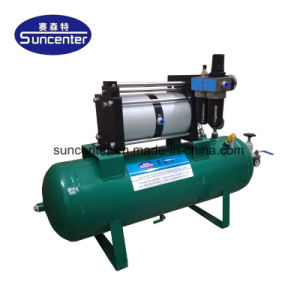Ampliamente utilizado Suncenter Modelo: 10-16 bares de presión de aire bomba de cebado con depósito de 40