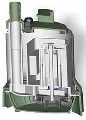 Accionamento magnético 110V Bomba Lagoa
