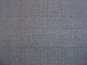 T/R Herrinboneのあや織りのスーツファブリック